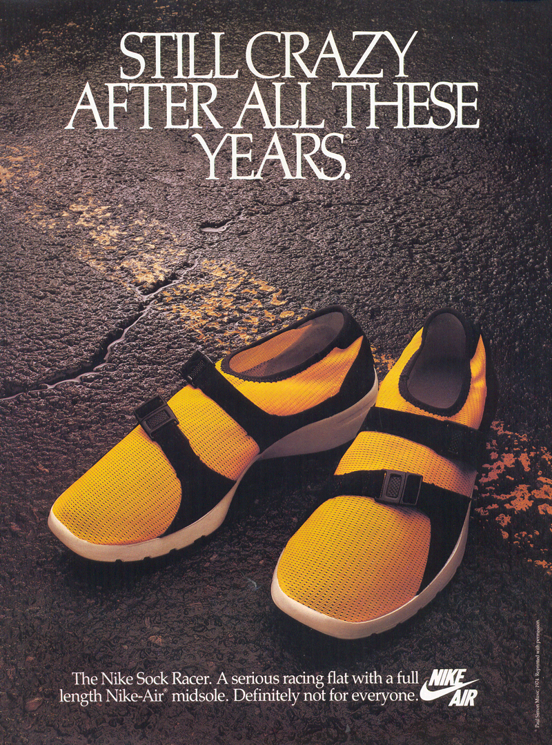 Still Crazy After All These Years Ad Advertising Nike Archives Shoes Sneakers Vintage Nike Best Nike Running Shoes Nike Ad