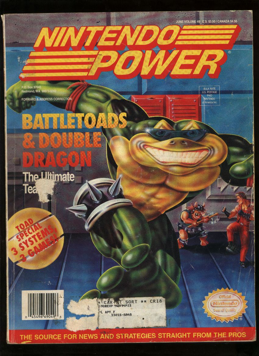 Battletoads Double Dragon Nes Box Art