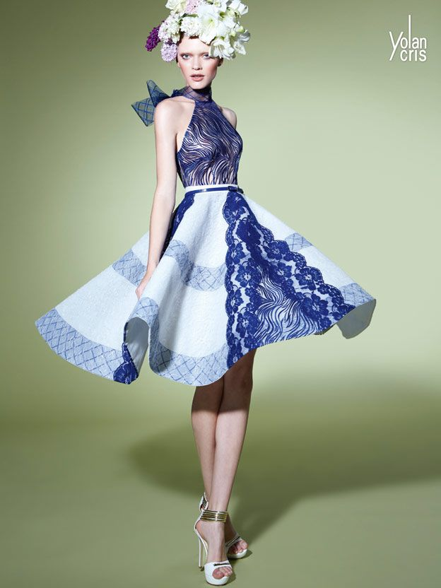 YolanCris 2015...BEAUTIFUL, love the silhouette & fabric. Imagine this in bridal fabric with embellishments that fit your wedding theme. Get that designer look without the designer $$$, have it custom-made. Ask your seamstress for fabric suggestions that fit your budget.