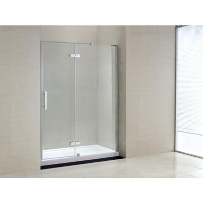 ove decors - catalina shower enclosure panel and base - catalina