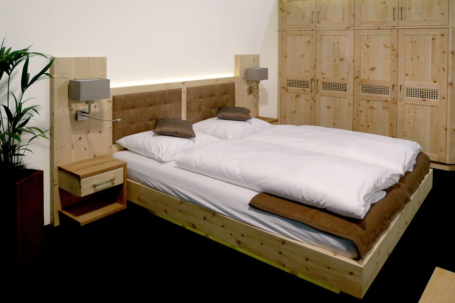 emejing schlafzimmer aus zirbenholz images - globexusa, Schlafzimmer entwurf