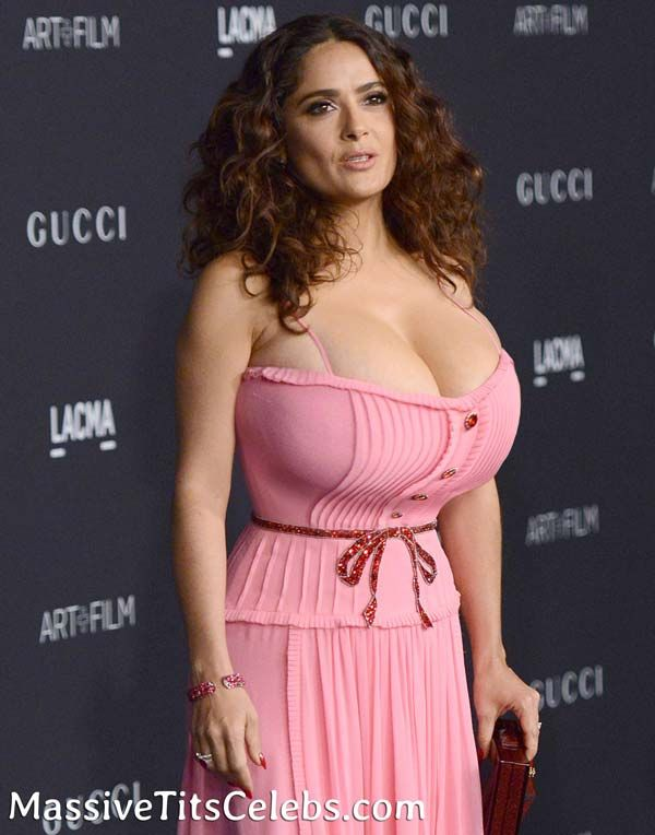 Salma hayek naked big boobs