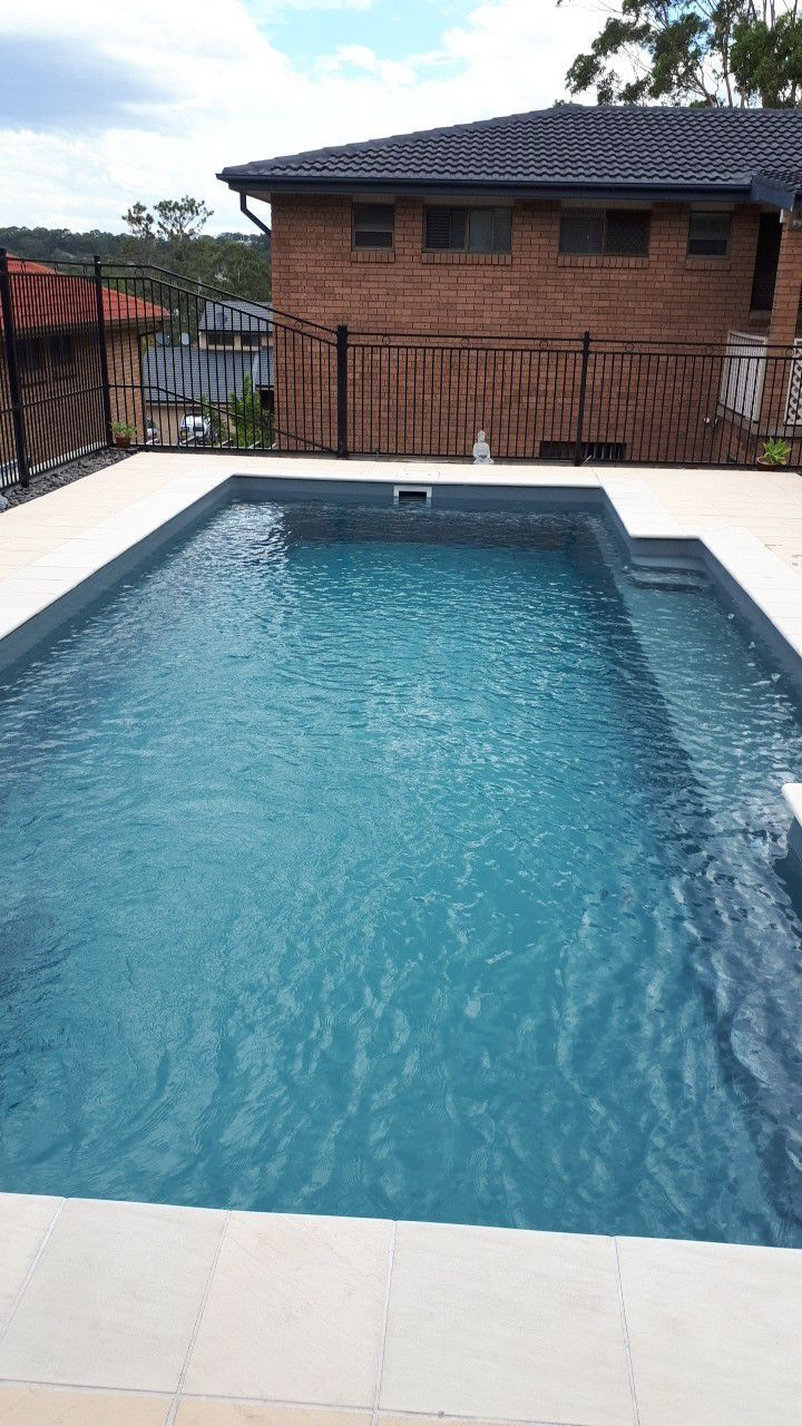 Compass Pool Im Garten The Leisure Pools Harmony Composite Fiberglass Swimming Pools Is A