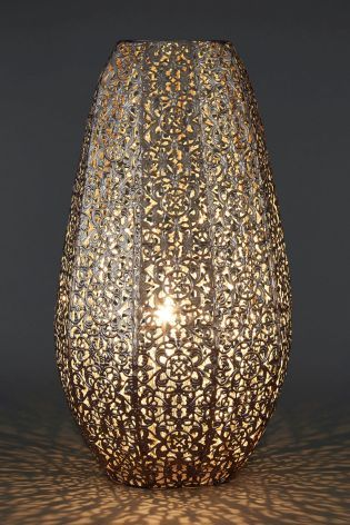 Buy Oriana Nickel Table Lamp From The Next Uk Online Shop