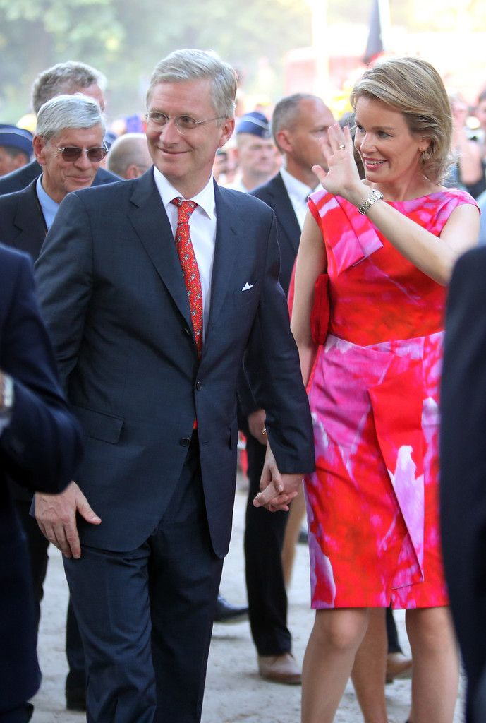 Queen Mathilde of Belgium - Abdication Of King Albert II Of Belgium, & Inauguration Of King Philippe