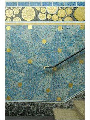 Odorico A La Decouverte De La Mosaique Art Deco Art Deco Art De La Mosaique Mosaique