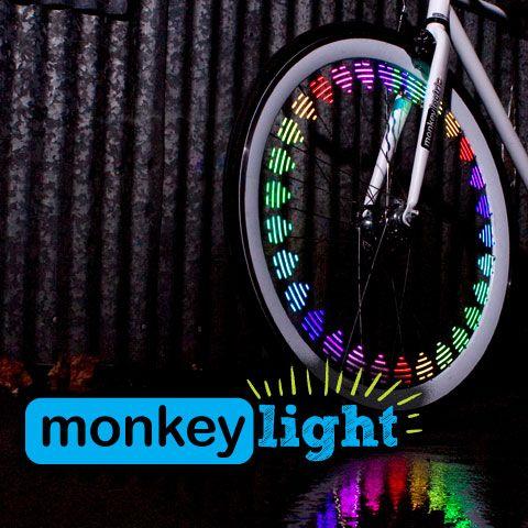M210 Monkey Light Bicycle Spokes Bicycle Lights Bicycle