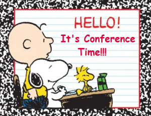 Image result for clip art parent teacher conferences peanut characters