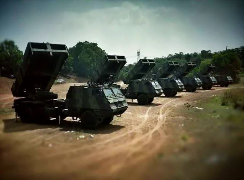 Indonesian Army Tni Ad Astros Mlrs Batteries 776x572 Military Vehicles Army Army Vehicles