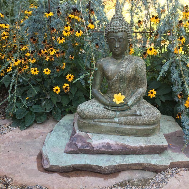 Brass Royal Ayutthaya Buddha Statue 54 68t12 Hindu Gods