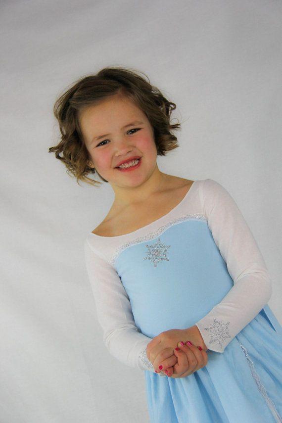 2b25801e81d6 Elsa Princess Dress by FoofsandFrills on Etsy