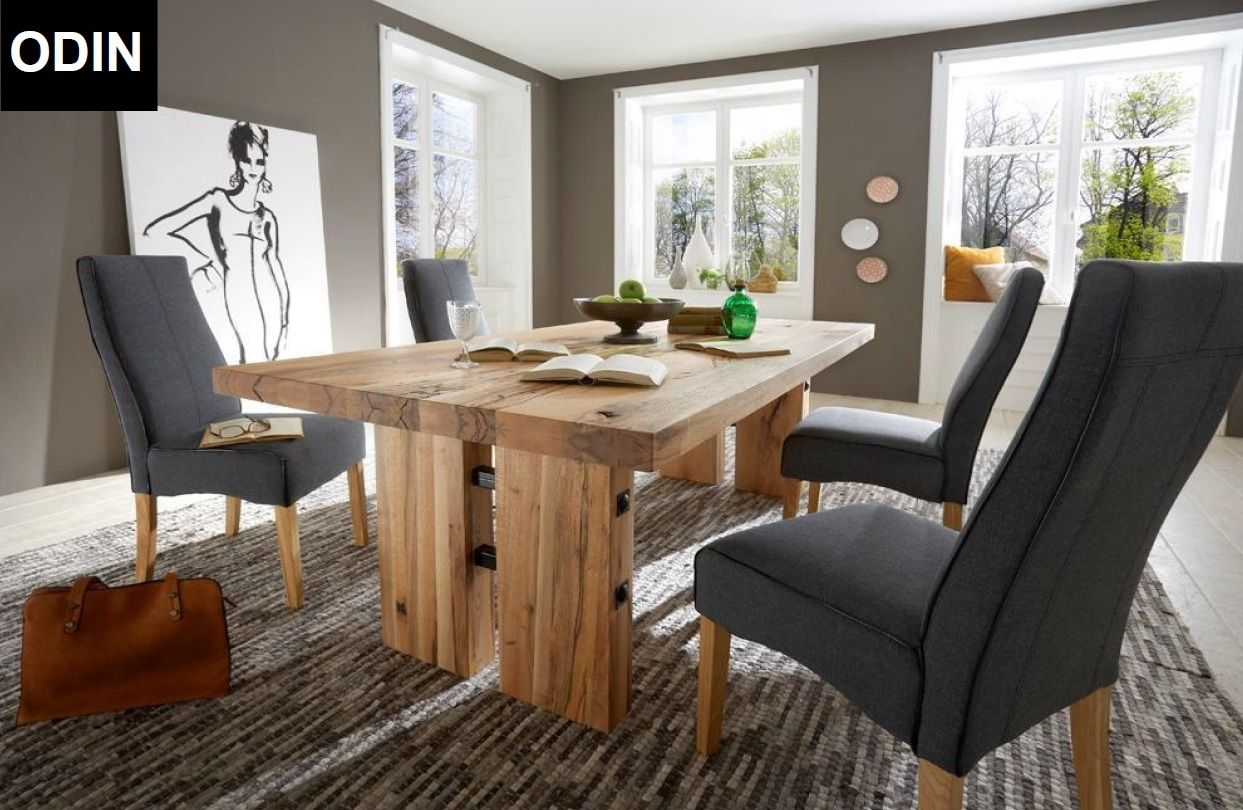 ODIN 3 Table Made Of Solid Oak