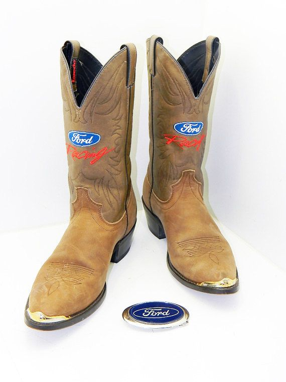 5b0ea71879b Mens Ford Racing size 11 1/2 Laredo Cowboy boots by RubesRelics ...