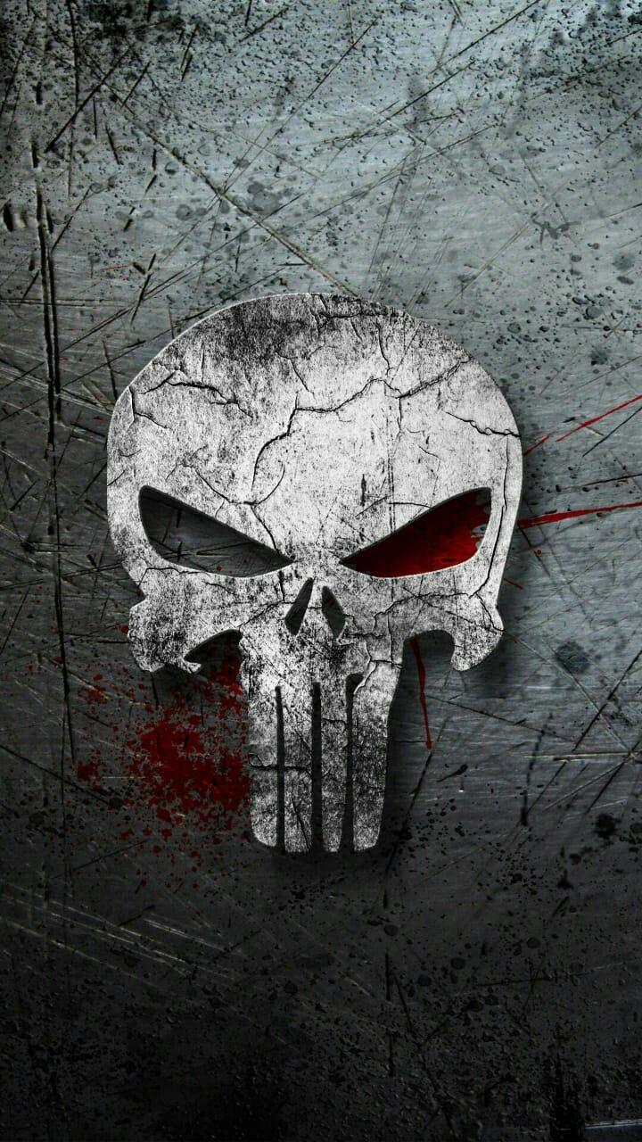Punisher logo image by Tibor . on skull Punisher artwork
