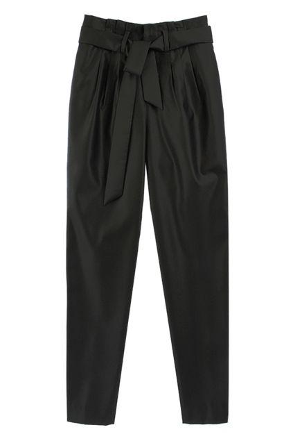 Loose Black Harem Pants / beautiful...