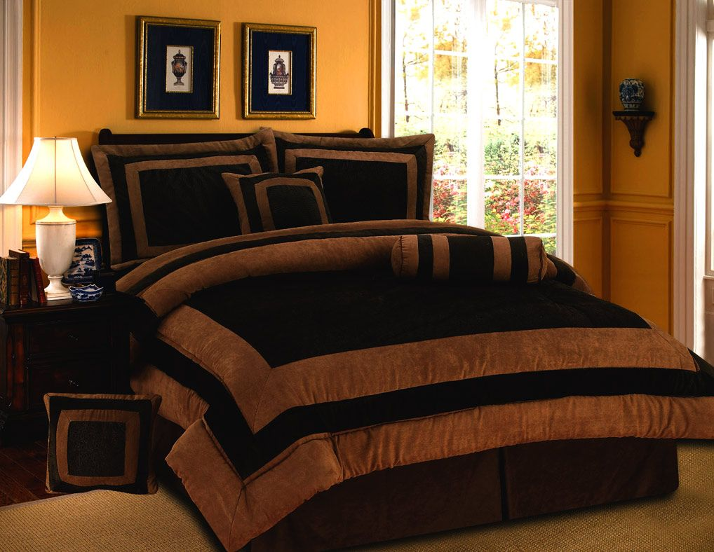 Brown and orange bedding - Bedding Brown Orange