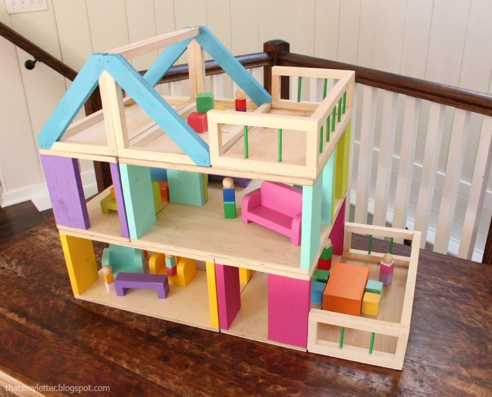 dollhouse furniture plans. A DIY Tutorial To Buils Modular Dollhouse And Free Plans For Furniture. Furniture R