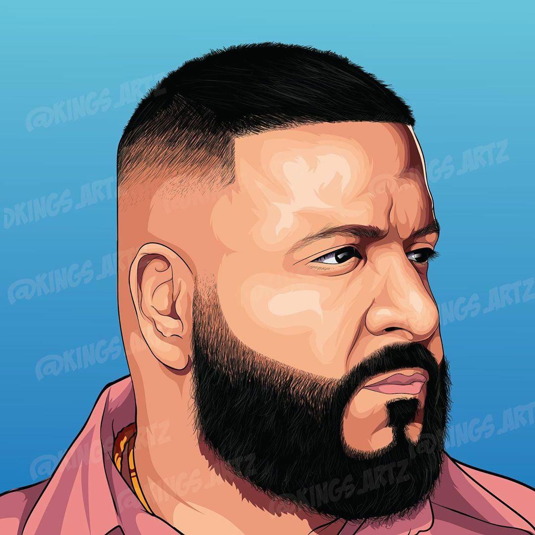 Dj Khaled Wallpaper Rapper Art Dj Khaled Cartoon Art