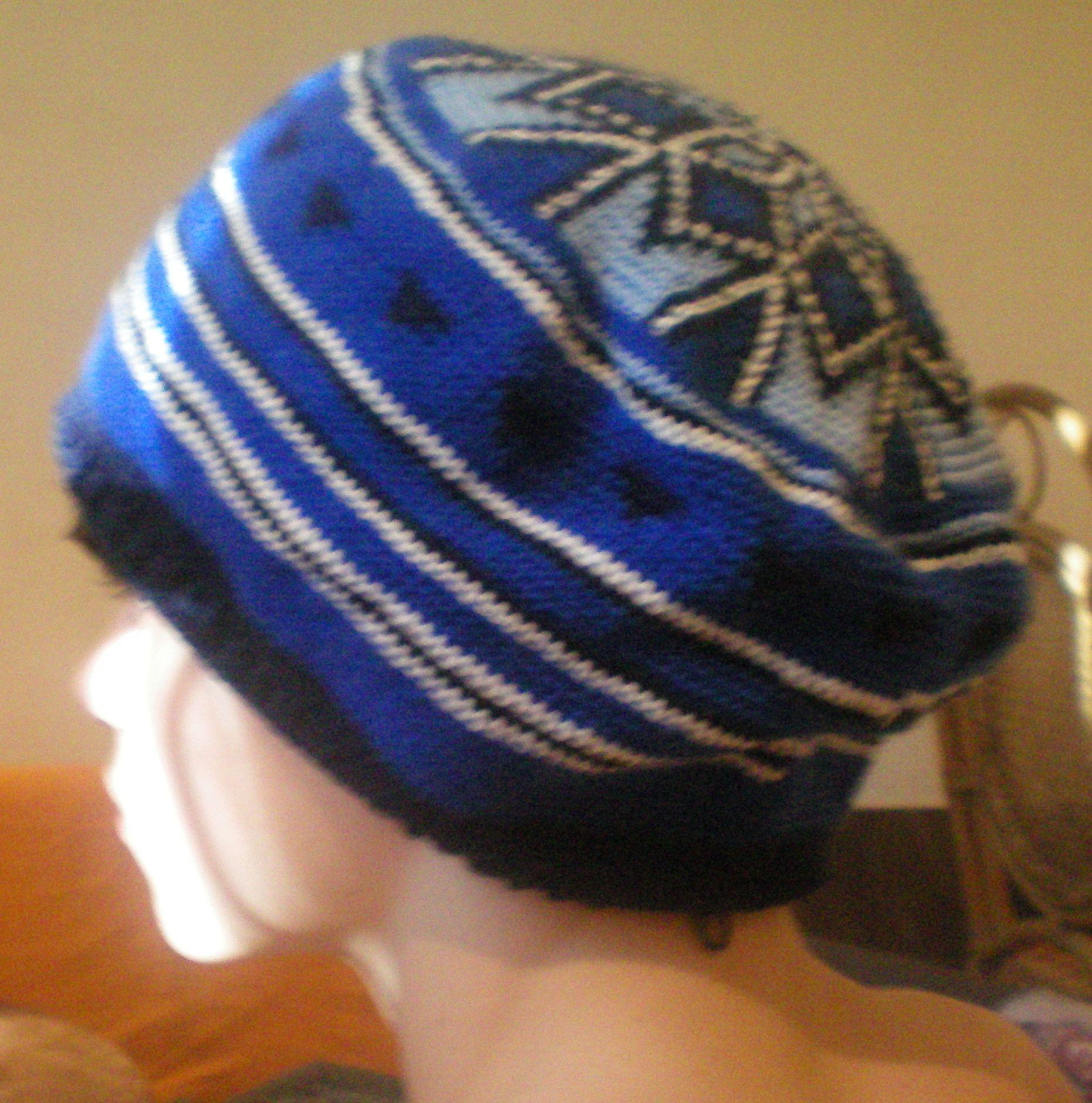 шапка-растаманка схема