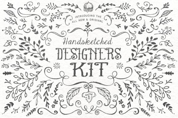 The Handsketched Designers Kit ~ Illustrations on Creative