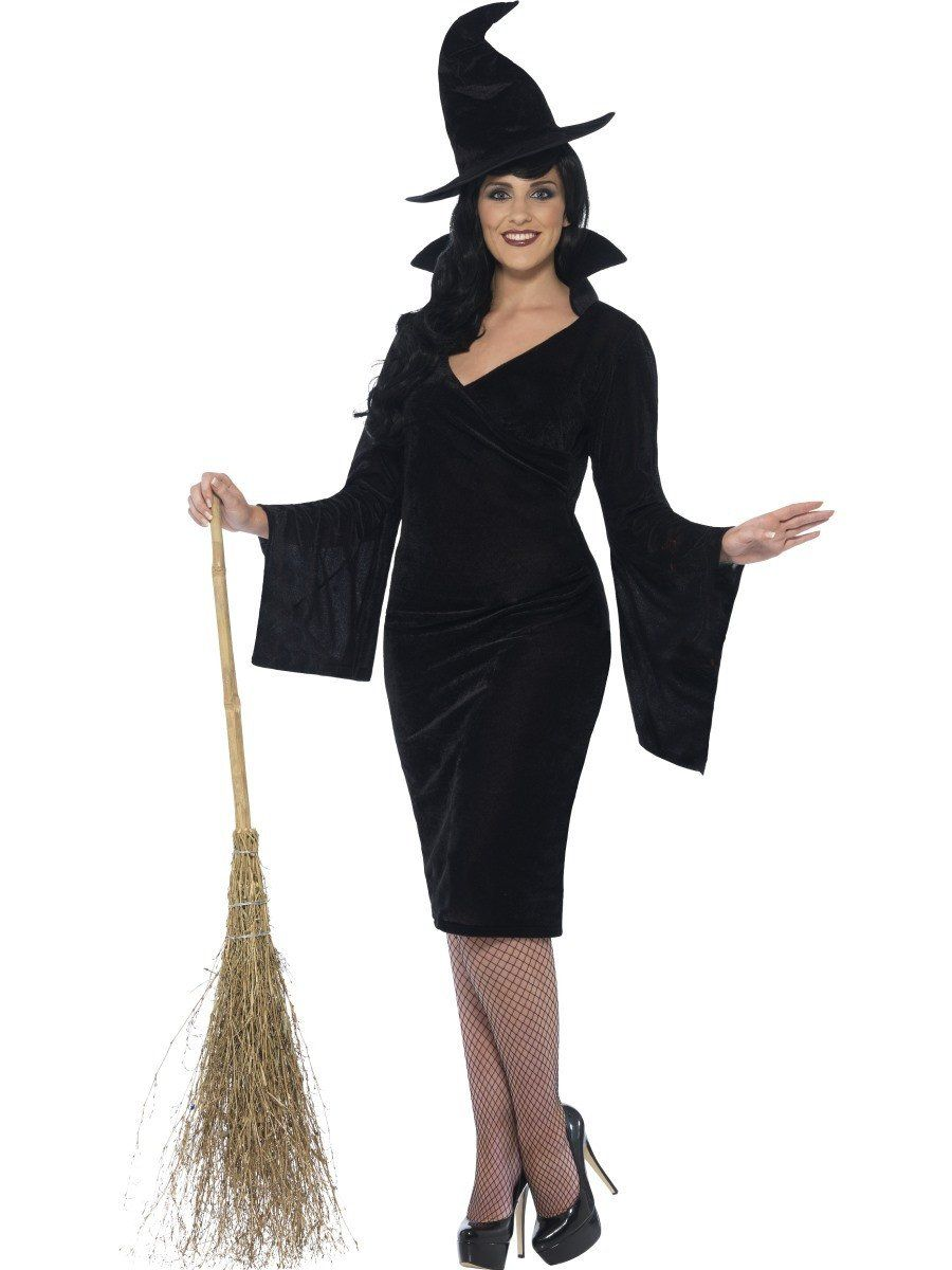 Women s Plus Size Curves Witch Costume 52276eb4f015