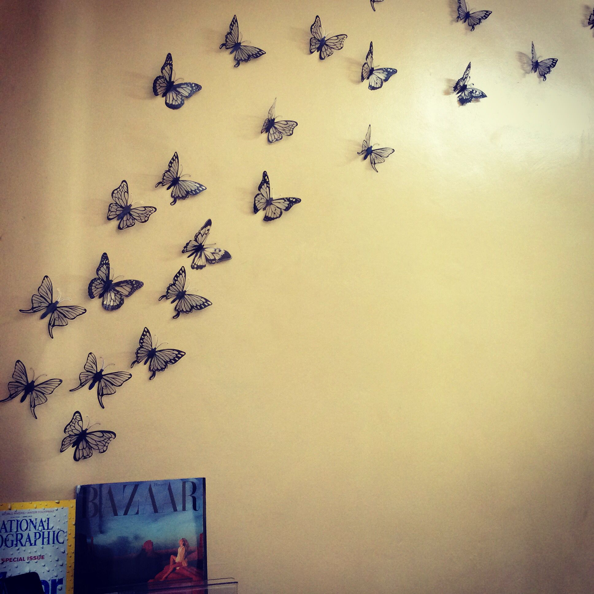 Fantastic Butterfly Wall Art Decor Photos - The Wall Art Decorations ...