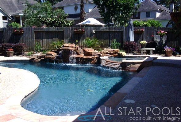 Corner pool...nice! | Backyard makeover, Pool