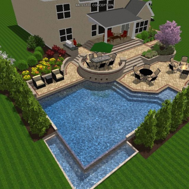 Plain City Ohio Pool Design