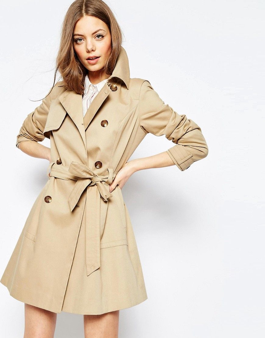 032e991a40 ASOS Classic Trench | Lust | Classic trench coat, Lightweight trench ...