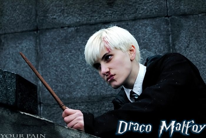 Draco cosplay by Your-Pain. #hp #harrypotter #dracomalfoy
