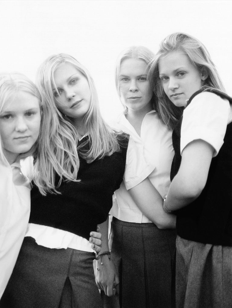 'The Virgin Suicides' (1999) The Lisbon sisters in the late-'90s flick were  not supposed to be chic—their conservative mother sewed them shapeless  dresses ...
