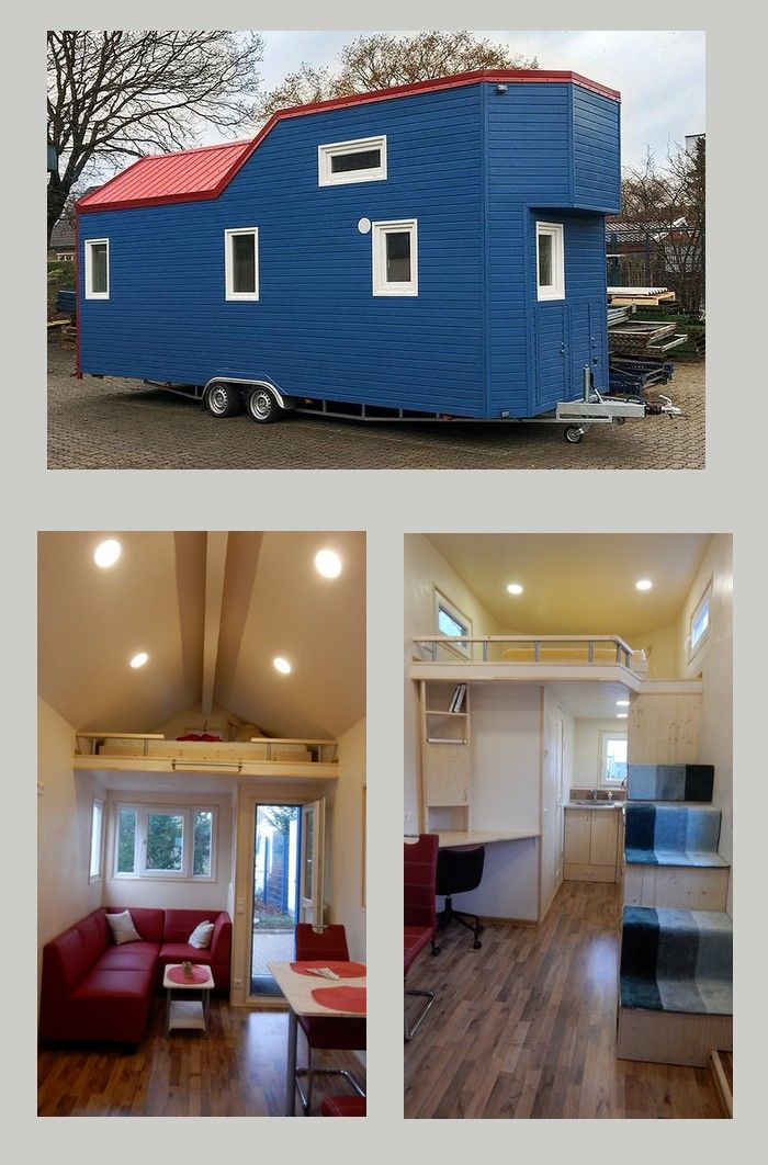 Das Von Uns Angebotene Rolling Tiny House Ist Ein Vollwertiges Haus Mit  Ganz Normalen Versorgungsleitungen Für