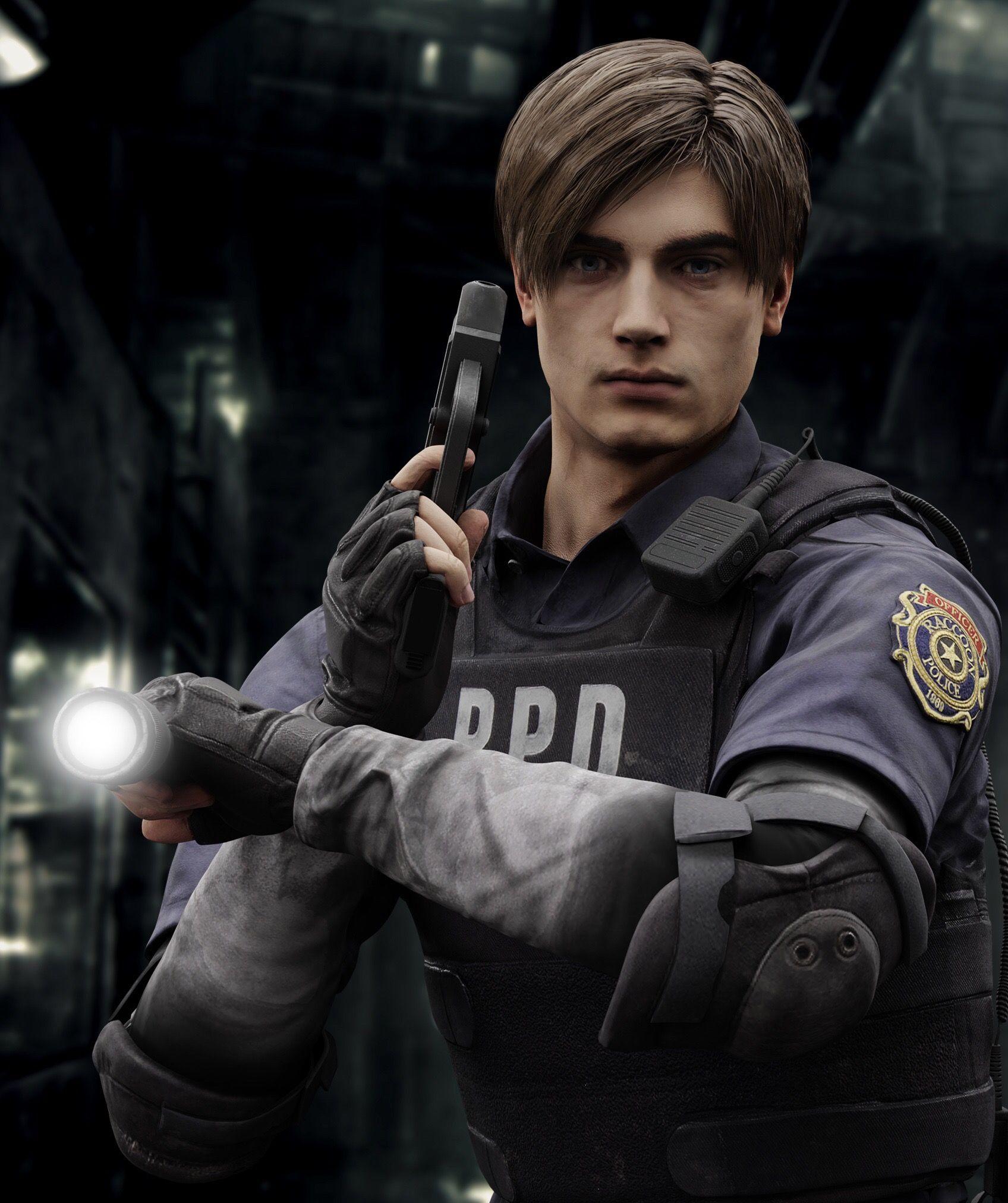 Pin By Beth On Leon Resident Evil Resident Evil Leon Leon Scott