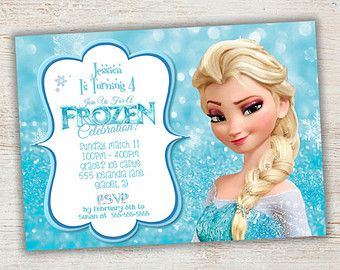 disney frozen birthday party ideas - Google Search   For the Home ...