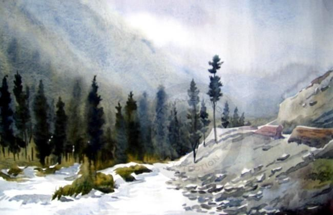 Watercolor Painting Gallery Samiran Sarkar Watercolor