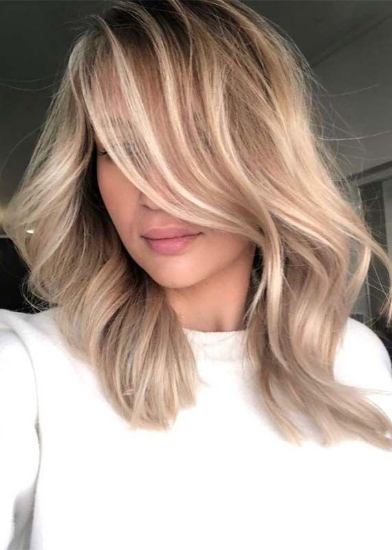 Photo of Combinazione di colori di capelli biondi balayage tridimensionali da indossare nel 2019 | Stili assurdi