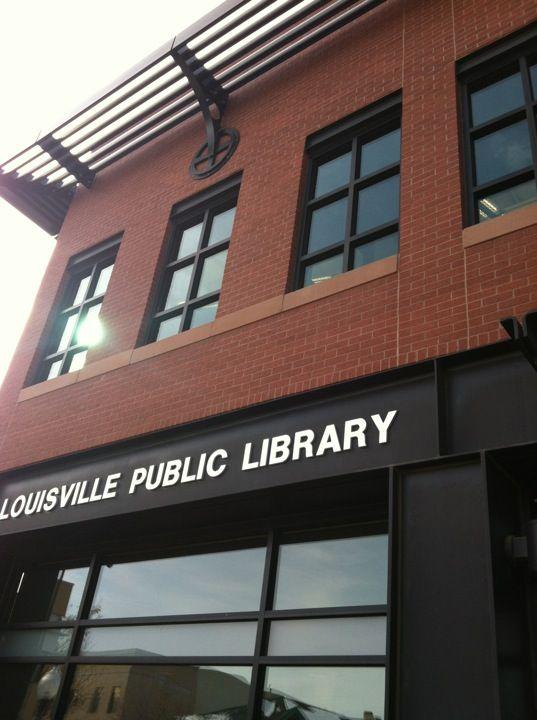 Louisville Library in Louisville, CO | Louisville