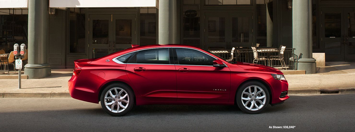 2017 impala full size cars