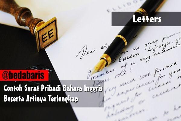 Contoh surat pribadi bahasa inggris beserta artinya terlengkap dan captcha contoh surat pribadi bahasa inggris beserta artinya stopboris Images
