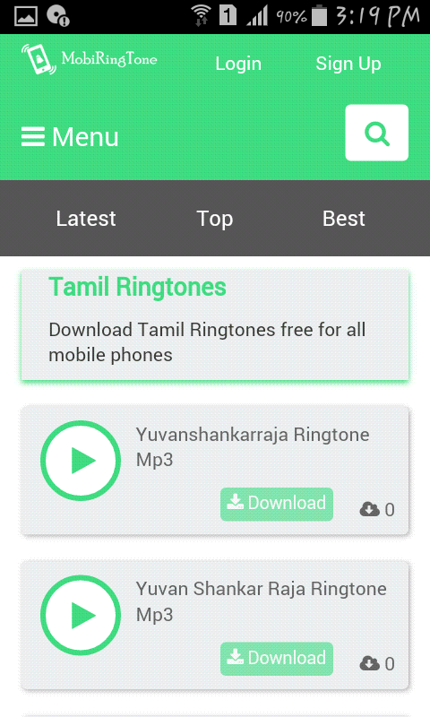 download cell ringtones