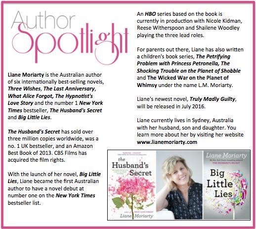 Check out this week's #AuthorSpotlight: #LianeMoriarty #australian #newyorktimesbestseller #biglittlelies #hbo