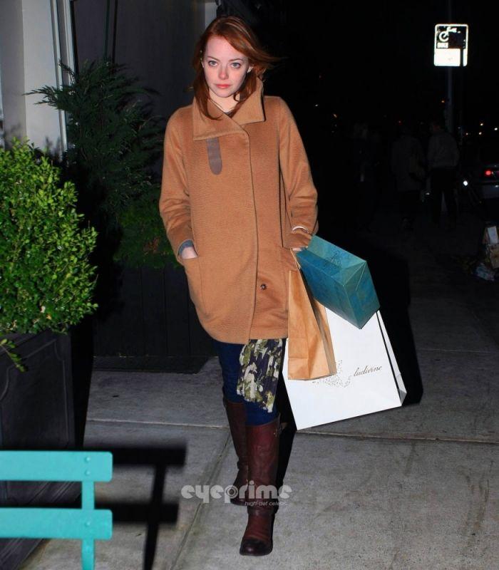 Shopping in New York City: MaxMara Sargano Camel Hair Coat & Rag & Bone Abbey Riding Boots
