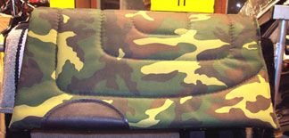 Fun camo pad for your pony