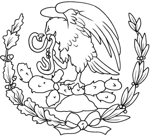 escudo-bandera-de-mexico-para-colorear-Escudo-Nacional-de-Mexico ...
