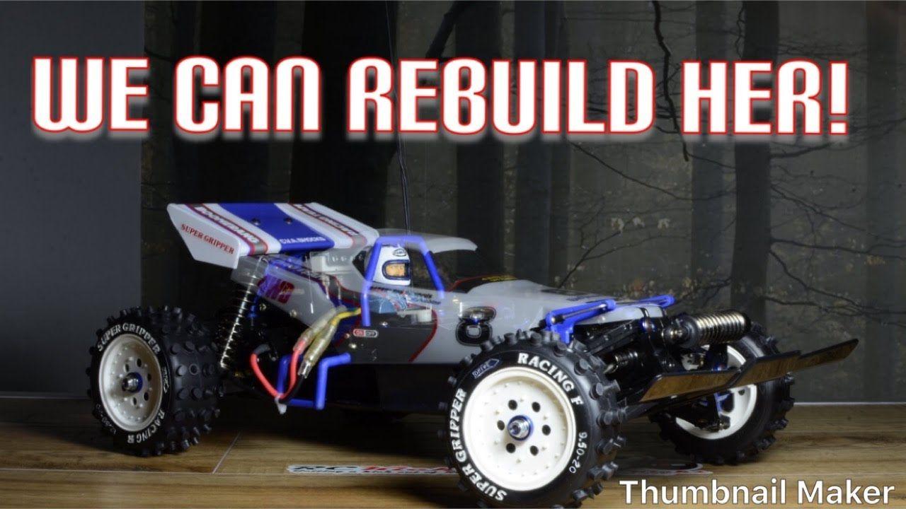Vintage 1986 Tamiya Boomerang Restoration Part 1 The Disassemble In 2020 Tamiya Rc Cars Restoration