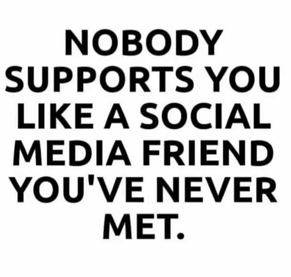SOCIAL MEDIA FRIENDS QUOTES