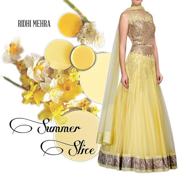 Love this dress! Yellow & gold - my favourite colours
