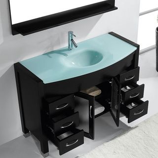 Virtu Usa Ava 48 Inch Single Sink Bathroom Vanity Set Ping