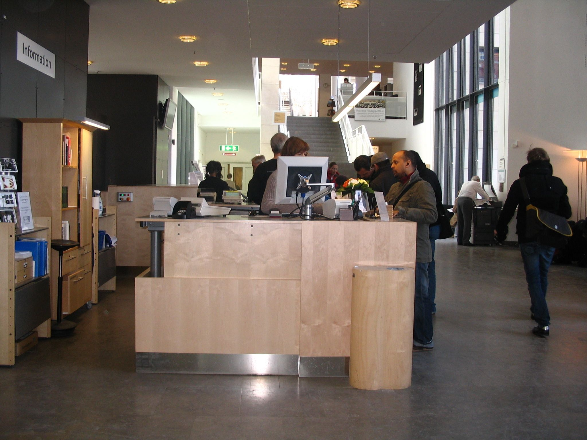 Malmo information desk