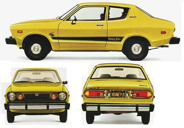 "Datsun B-210 ""Honey Bee"" C. 1976, My 1st Brand New Car"